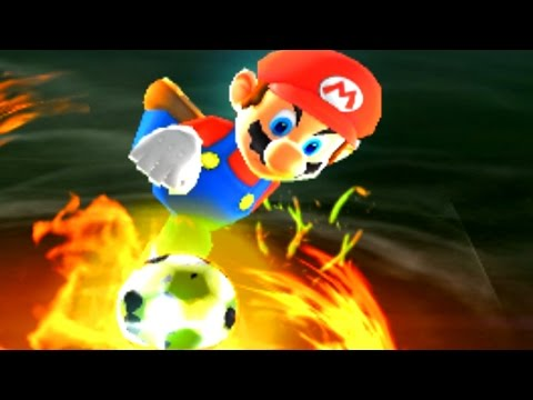 Mario Sports Superstars - All 18 Special Shots + Goal Animations