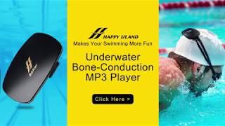 BEKER Underwater MP3 Player for Swimming |  No Headphones Needed