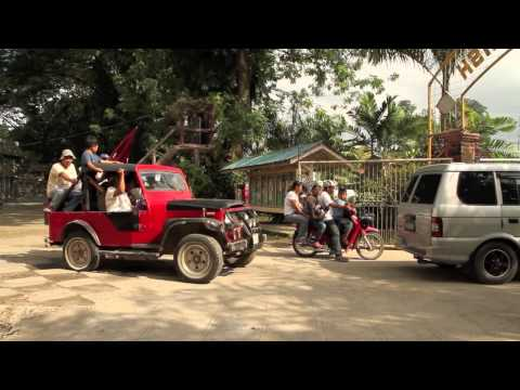 Tuk tuks, tricycles and motorcycles in Philippines