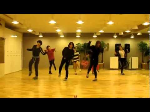 T-ara 'Lovey Dovey' mirrored Dance Practice Music Videos