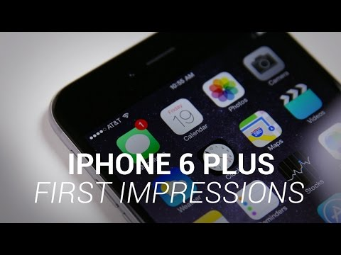 iPhone 6 Plus First Impressions