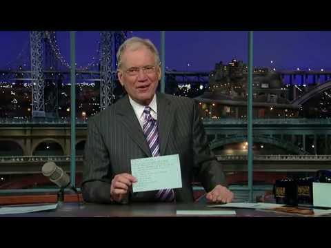 David Letterman - Apple iPad David Letterman Top 10