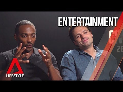 Anthony Mackie and Sebastian Stan interview in Singapore