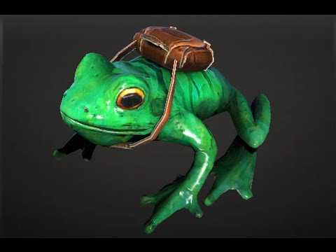Skip the Delivery Frog Courier Preview