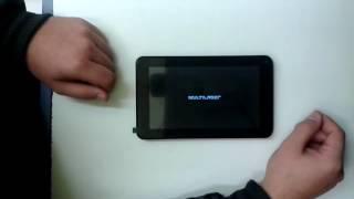 Tablet Multilaser M7s - Hard Reset - Desbloquear - Resetar