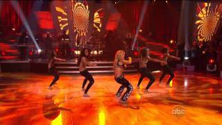 Shakira - Loca - 10.19.10 (Dancing With The Stars)