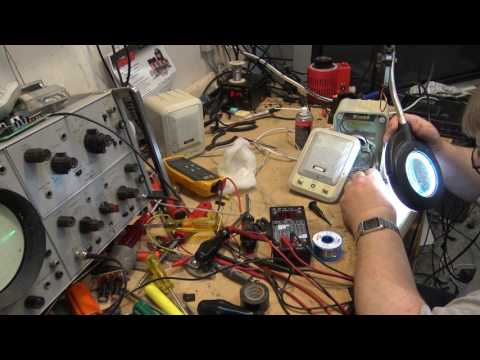 Powered Computer speakers amplifier repair