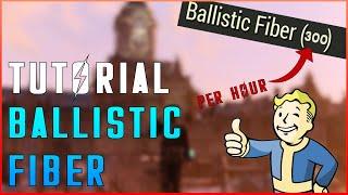 Fallout 76 The Best Ballistic Fiber Farm (300 PER HOUR!) Easy Ballistic Fiber