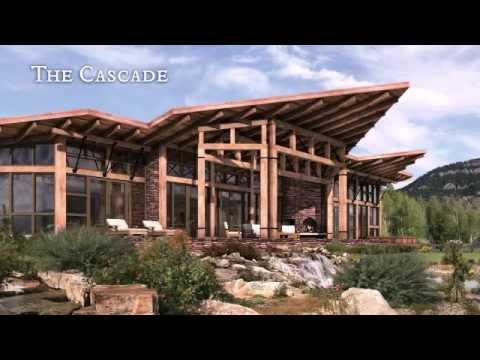 Modern Timber Frame Home Youtube