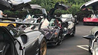 Pagani Heaven - Kingtasma, Cinque, and a casual Lamborghini Centenario