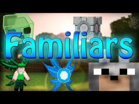 Minecraft Mods - Familiars Mod 1.4.5 Review and Tutorial (