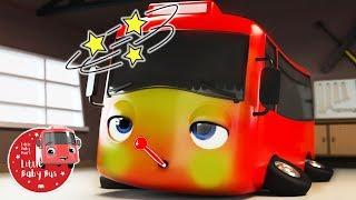 Little Baby Bus Is Sick + More! | Kids Cartoons | Children's Stories | Bus Videos