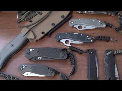 Paracord Knife Lanyards
