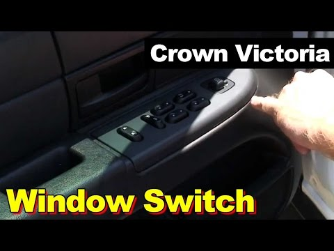 How To Install Replace Wiper Switch Crown Victoria Town