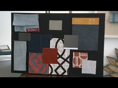 How to put together an interior design sample board - Interior design sample board software ...