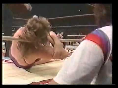 Mimi Hagiwara vs. Judy Martin���ߥ��븶 vs ����ǥ����ޡ����� (1982) Part2