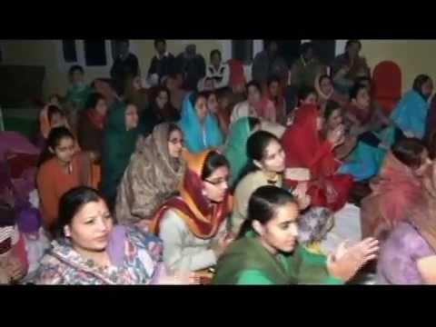 Bhardwaj Jagran Party in Chandigarh Punjab - Hanuman Ji Ki Jhaanki...