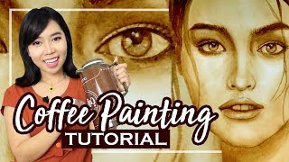 Coffee Painting Tutorial | Philippines