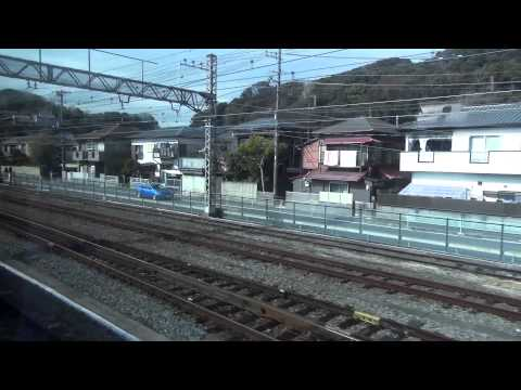 [rail japan]横須賀線 久里浜-横浜(Yokosuka Line Kurihama-Yokohama)[right]