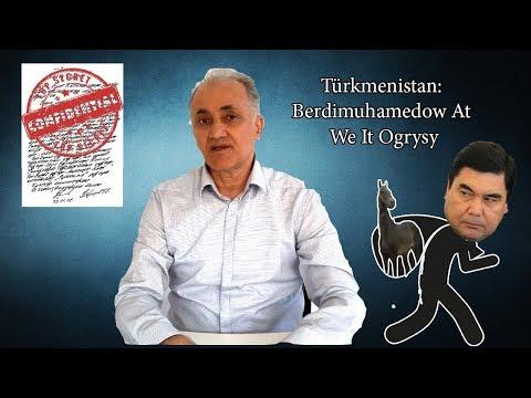 Туркменистан: Бердымухамедов - Вор Лошадей и Собак   Türkmenistan: Berdimuhamedow At We It Ogrysy