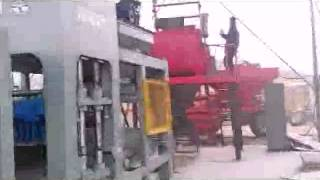 automatic cement brick machine  brick making machine from China