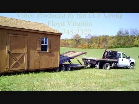 How to move storage buildings youtube for How to move a building