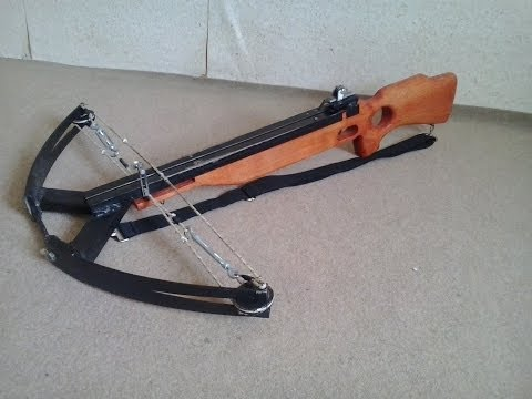 How to make compound crossbow. Part.:2