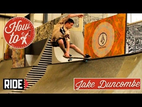 How-To Skateboarding: Frontside Crailslides with Jake Duncombe