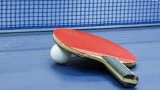 Les effets de base au tennis de table. Partie 1 : Au service