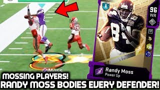 RANDY MOSS CATCHES EVERYTHING! MOSSING DEFENDERS! Madden 20 Ultimate Team