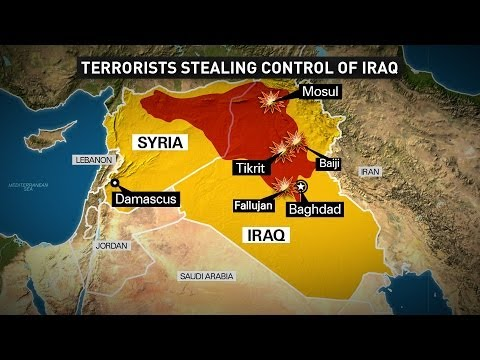 The Beast : ISIS Islamic Caliphate in the Middle East bringing rise to the Al Mahdi (Jun 18, 2014)