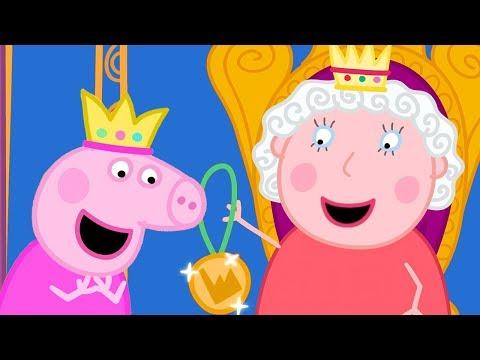 Download Peppa Wutz 👑 Peppa trifft die Königin 👑 Peppa Pig Deutsch Neue Folgen   Cartoons für Kinder Mp4 baru