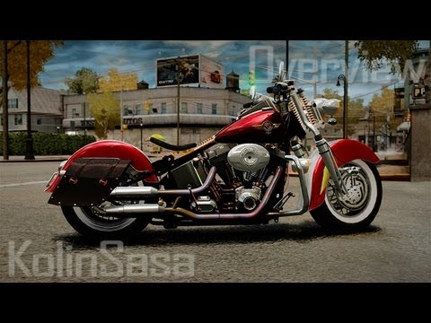 Harley-Davidson Fat Boy Lo (Vintage final)