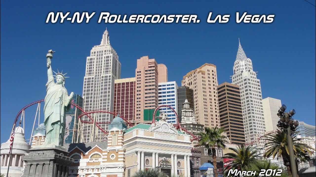 New York New York Hotel Roller Coaster Las Vegas Youtube