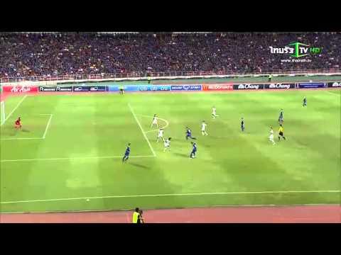 คลิปวิดีโอ ไฮไลท์ฟุตบอลโลกรอบคัดเลือก ไทย - อิรัก Thailand - Iraq เสมอกัน 2-2