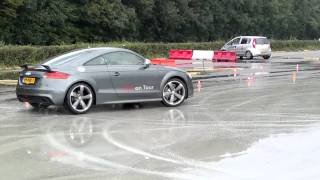 Audi TT-RS drift awd