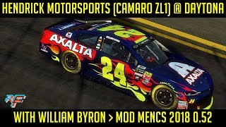 [rFactor2] Hendrick Motorsports (Camaro ZL1) @ Daytona with William Byron #NASCAR #Daytona500