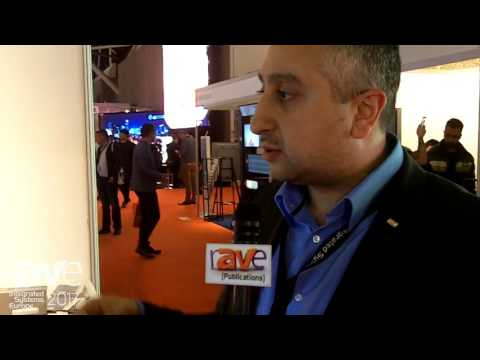 ISE 2017: Magic Schaufenster Demos Magic Mirror
