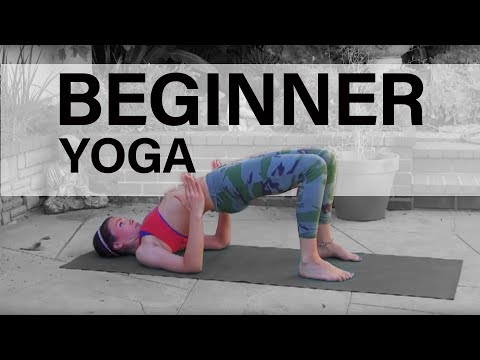 Beginners Power Vinyasa Yoga Class Full Length Weight Loss Hatha Twists Image 1