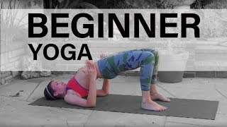 Beginners Power Vinyasa Yoga Class Full Length Weight Loss Hatha Twists