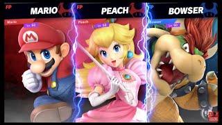 Super Smash Bros Ultimate Amiibo Fights   Request #1332 Mario & Peach vs Bowser