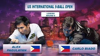 Alex Pagulayan - Carlo Biado | US International 9-Ball Open 2018