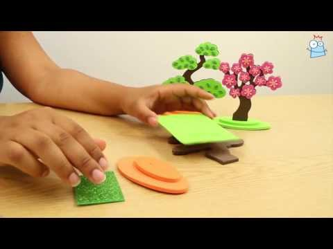 Make a 3D Japanese Tree in minutes...