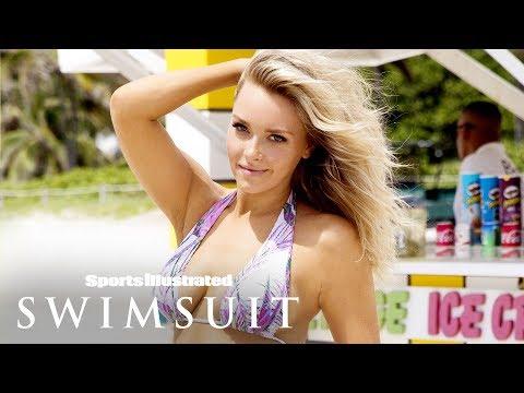 Former Patriots' Cheerleader Camille Kostek Talks Living Her Dreams | Sports Illustrated Swimsuit