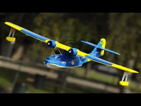 New Dynam Catalina Twin Engine Sea Plane Blue Version