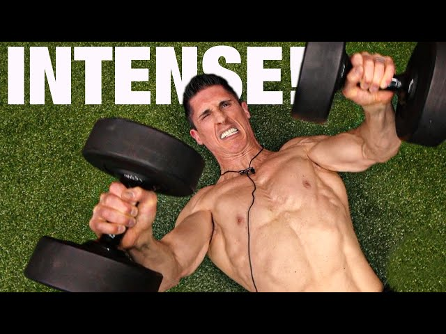 The World's FASTEST Chest Workout (INTENSE!) thumbnail