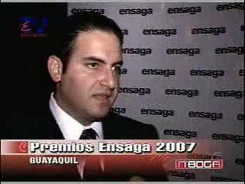Entrega de premios Ensaga 2007
