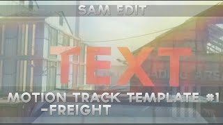 Call of Duty Ghost - Freight Motion Track Template - Cinema 4D