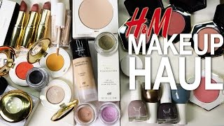 New!!! H&M MAKEUP   Haul with Swatches