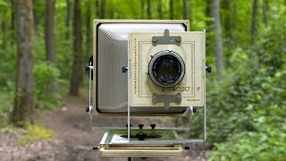 8x10 Large Format photography | Woodyman Camera Review ヅ | EN/FR Sub.